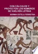 libro Con CÁlculos Y Proyectos Los NÚmeros Se Vuelven Letras