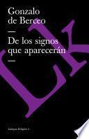 libro De Los Signos Que Aparecerán