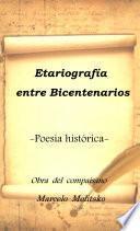 libro EtariografÍa PoÉtica Sobre Los Bicentenarios