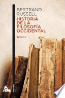 libro Historia De La Filosofía Occidental I
