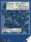 libro Huerto Deshecho