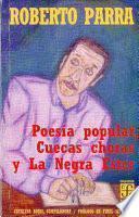 libro Poesía Popular, Cuecas Choras Y La Negra Ester