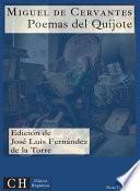 libro Poesías Vi: Poemas Del Quijote