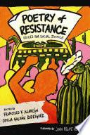 libro Poetry Of Resistance