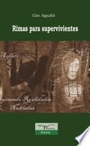 libro Rimas Para Supervivientes.