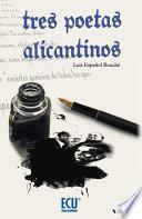 libro Tres Poetas Alicantinos