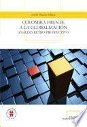 libro Colombia Frente A La Globalización
