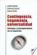 libro Contingencia, Hegemonía, Universalidad