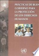 libro Prácticas De Buen Gobierno Para La Protección De Los Derechos Humanos