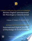 Revista Digital Internacional De Psicología Y Ciencia Social | Vol. 1 | Num. 2 | 2015