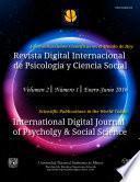 Revista Digital Internacional De Psicología Y Ciencia Social | Vol. 2 | Num. 1 | 2016