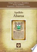 libro Apellido Abaroa