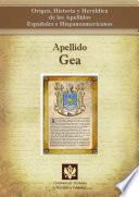 libro Apellido Gea