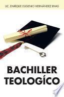 libro Bachiller Teologico