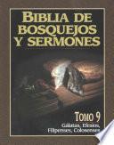 Biblia De Bosquejos Y Sermones Rv 1960 Galatas, Efesios, Filipenses, Colosenses