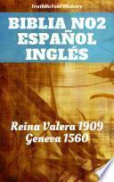 libro Biblia No.2 Español Inglés