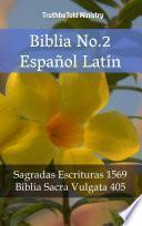 libro Biblia No.2 Español Latín