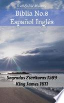 Biblia No.8 Español Inglés