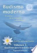 Budismo Moderno   Volumen 3: Oraciones Para La Práctica Diaria