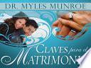 Claves Para El Matrimonio