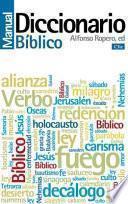 libro Diccionario Manual Bíblico