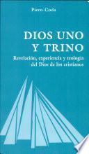 libro Dios Uno Y Trino