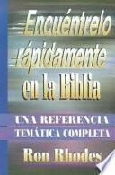libro Encuentrelo Rapidamente En La Biblia