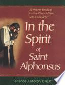 In The Spirit Of Saint Alphonsus