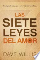 libro Las Siete Leyes Del Amor