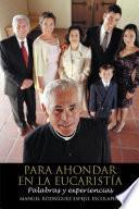 libro Para Ahondar En La EucaristÍa