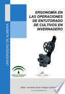 Ergonomía En Las Operaciones De Entutorado De Cultivos De Invernadero