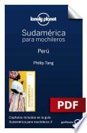 Sudamérica Para Mochileros 3. Perú
